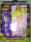 New Age Diva Child 70's Diva Costume Dress-up NWT M L