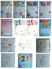 21st BIRTHDAY (Age 21) Party INVITATIONS & Envelopes {Fixed £1 UK p&p}(PI)