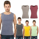 URBAN CLASSICS FADED TANKTOP T-SHIRT HERREN TOP SHIRT LADIES 6 FARBEN S - XXL