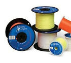 SA DACRON Fly Line Backing, 30 lb Test, WHITE - 100 to 5000 Yd Spools