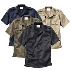 SURPLUS RAW VINTAGE M65 US RANGER ARMY MILITÄR HEMD SECURITY WORKER SHIRT 1/2ARM