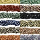 Wholesale Lot of 10, 36 Inch Long Strands of Natural Gemstone Stone Chip Beads