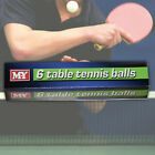 PING PONG TABLE TENNIS BALLS TENNIS TOURNAMENT SETS OF 6-12-18-36 OFFICIAL SIZED