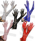 Ladies Opera Wedding Bridal Long Stretch Lace Elbow Gloves Proms Party Sexy