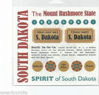 SRM Press Travel Sticker US States Scrapbooking
