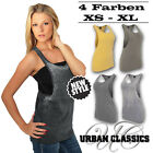 URBAN CLASSICS DAMEN LADIES LOOSE TANKTOP TOP SHIRT T-SHIRT BURNOUT SOMMER XS-XL