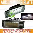 Audi A3 A4 A5 A6 Q5 Q7 TT Number Plate Light OEM Lamp Xenon White LED Upgrade