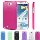 ULTRA THIN 0.3MM CASE COVER FOR SAMSUNG GALAXY NOTE 2 7100 FREE SCREEN PROTECTOR