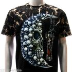 b40 Survivor T-shirt M L XL XXL Tattoo STUD Skull Ghost Moon Demon Rock Men Grim