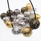 5 Colors Mixed New For Jewelry Making Spacer Beads Charms Iron Round Beads 12mm