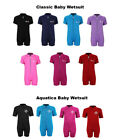 Classic/Aquatica Baby Wetsuit Swim Suit by TBF - Kids Childs Toddlers Suit