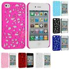 Color Interwove Line Bird's Nest Style Slim Hard Case Cover for iPhone 4 4G 4S