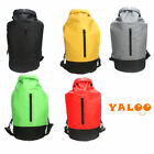 Waterproof Dry Backpack Bag With Zipper For Canoeing Outdoor Sports Camping