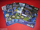 2012/13 MACCLESFIELD HOME PROGRAMMES (2013)