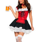 Oktoberfest Bavarian Beer German Wench Maid Costume Carnival Fancy Dress