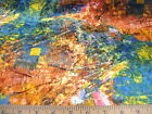 Discount Fabric  Stretch Velvet Multi Colored abstract VE202