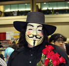 V for Vendetta Anonymous Guy Cyber Monday sales Cosplay Costume Party Mask