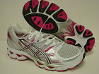 NEW Womens ASICS Gel Nimbus 12 T095N 0197 White Rasberry Titanium Sneakers Shoes
