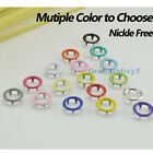 9.5mm 17 Colors Prong Ring Snap Fasteners/Press Studs Dummy Clips Bandana bibs