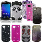 For ZTE Warp 2 Sequent N861 Bling Gem Hard Cover Case Phone Accessory