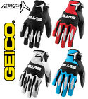 MENS ALIAS REFLEX PALM MOTOCROSS MX GLOVES NEW GEICO gants enduro bike bmx quad