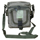 Army Combat Military Utility Shoulder Travel Zip Bag Bum Money Strap Pouch Green