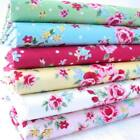 SWEETIE - SHABBY VINTAGE CHIC ROSES 100% COTTON FABRIC weddings bunting fashion