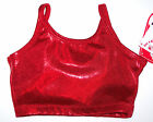 NWT New Alpha Factor Short Crop Top Hologram Holo Red Beautiful Cute Nice Adult