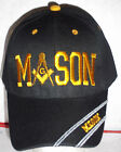 Chose Your Color Mason Masonic Freemasonry Freemason Masonry Ball Cap Golf Hat