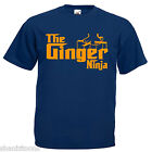 Ginger Ninja Adults Mens T Shirt 12 Colours Size S - 3XL