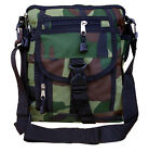 Mens Military Combat Army Travel Shoulder Bag Camera Tote Messenger Zip Pouch
