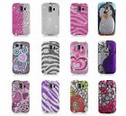 For Huawei Fusion 2 II U8665 AT&T Bling Gem Hard Cover Case