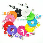 WHOLESALE LOT 10 20 50 100 USB DATA SYNC CHARGER CABLE FOR IPHONE 5 5C 5S #AS-05