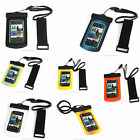 Waterproof Dive Dry Bag Cover Case Pouch For Mobile Phone iPhone 5 5G Multicolor