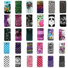 For Motorola Droid Razr M XT907 Accessory Flower Zebra Design Hard Cover Case