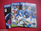 2002/03 - IPSWICH HOME PROGRAMMES CHOOSE FROM