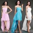 Women Lady Sexy Chiffon Cocktail Party Evening Bridesmaid Prom Evening Dress