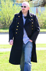 Genuine Soviet Navy Blue AIR FLEET GREAT COAT 40 Inch Chest All Sizes 90% Wool