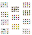 24 TEMPORARY TATTOOS,SMILEY,FAIRY,PIRATE,MONSTER,FARM,JUNGLE,SEA,INSECT,DINO ECT