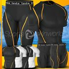 New Mens Compression Under Base Layer Shorts Gear Wear Armour Shirt and Pant Set
