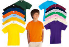 Kids Fruit of the Loom Valueweight T Shirt, Kids T-shirt 18 Colours