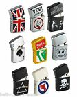Bomblighter Branded Windproof Lighter. Limited Edition Various Designs