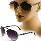Classic Womens Aviator Sunglasses Vintage Retro Fashion Celebrity Sunnies 050