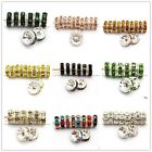 100pcs Rondelle Acrylic&Glass Crystal Beads For Basketball Girls' Waving Earring