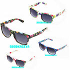"BRAND NEW SUNGLASSES TOP QUALITY STYLISH 80""s RETRO GEEK MEN LADIES UK FAST."