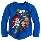 Disney Store Jake and the Never Land Pirates Thermal T Shirt 4 5/6 7/8