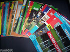 ENGLAND HOME PROGRAMMES 1971 TO 1984