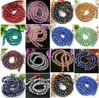 72P Rondelle 90 Faceted Crystal Cut Glass Round Ball Loose Beads 10mm DIY Charm