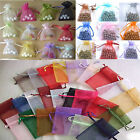 Lots 100pcs 15x20cm Organza Gift Bag Jewelry Pouch Wedding Favor