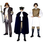 Mens Halloween Costume Dr Jekyll & Mr Hyde or Sweeney Todd or Dick Turpin - New